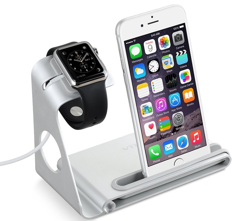 VTIN iPhone Watch Alu Dock