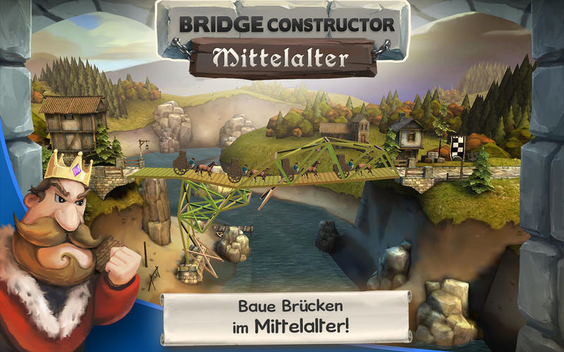 Bridge Constructor Mittelalter Screen