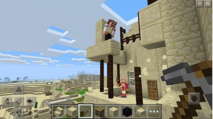Minecraft Update Ansicht