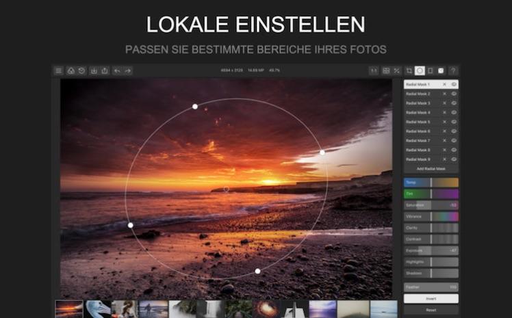 Polarr Mac App