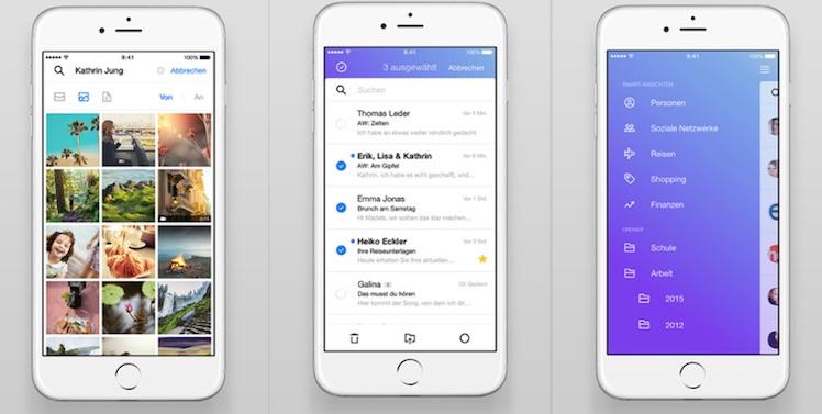 Yahoo Mail neue Ansicht