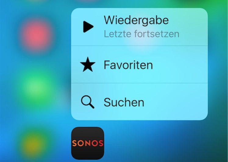 Sonos 3D Touch