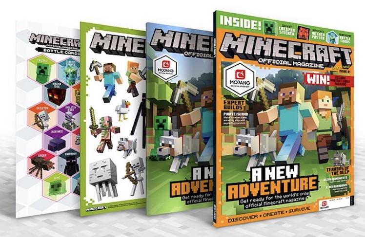 Minecraft Erstes Offizielles Buch Und Neues Magazin ITopnews - Minecraft spielen echt
