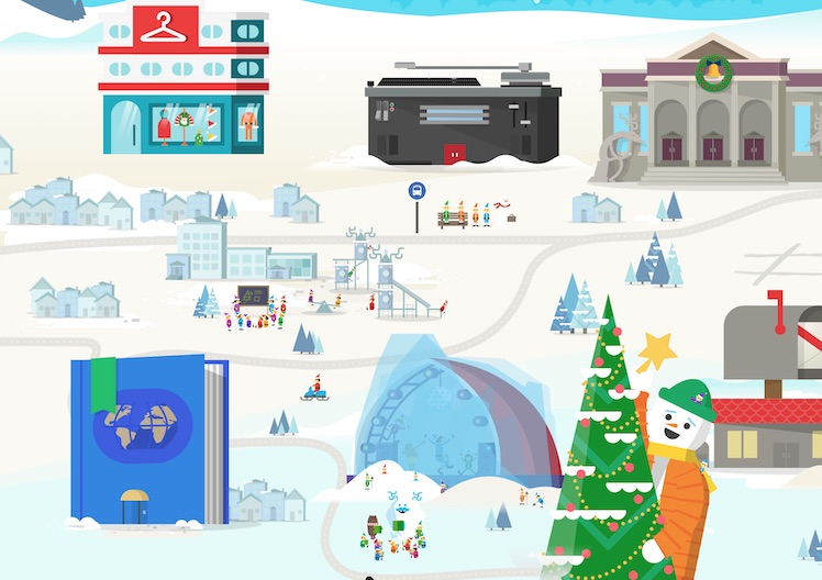 Weihnachtskalender Google.Google Mit Digitalem Adventskalender Und Santa Tracker Itopnews