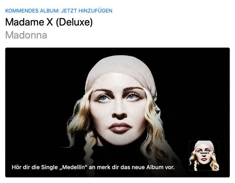 Neues Album von Madonna kommt Mitte Juni - Show-Biz