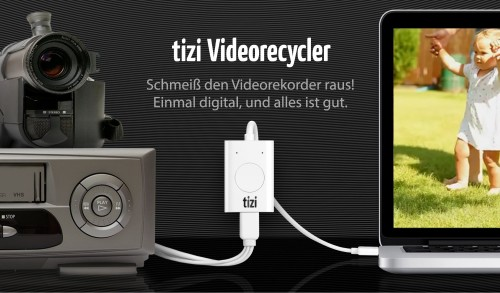Tizi Video recycler Bild