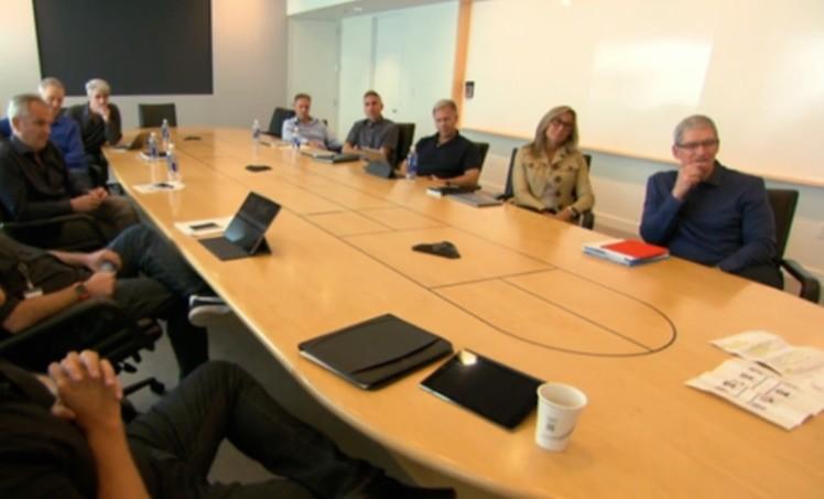 Executive Sitzung Apple
