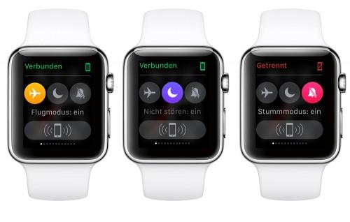 Apple Watch - Bitte nicht stören!