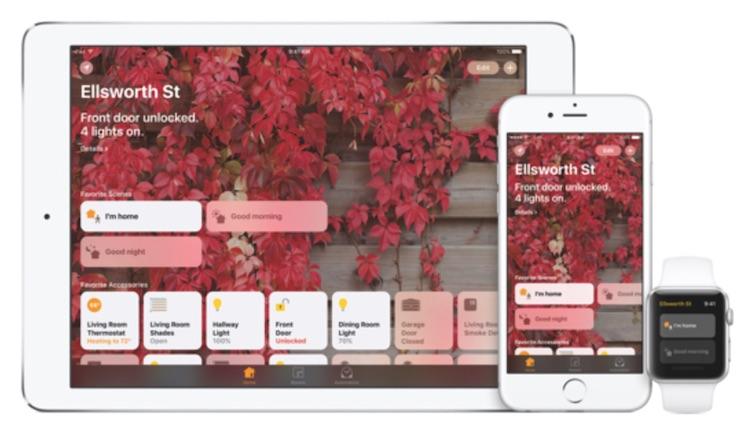 iOS 10 HomeKit Ansicht