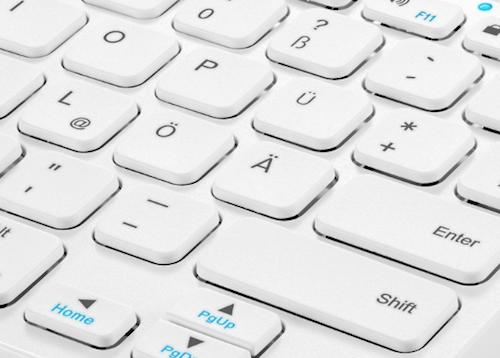 Anker Tastatur weiss