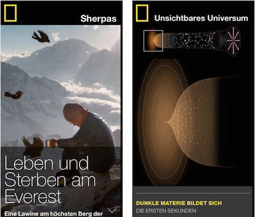 National Geographic Ansicht