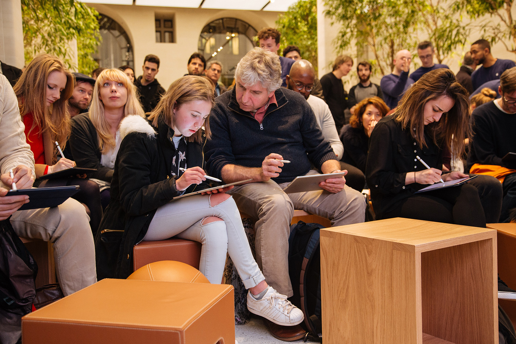 Today at Apple: Store-Veranstaltungen starten