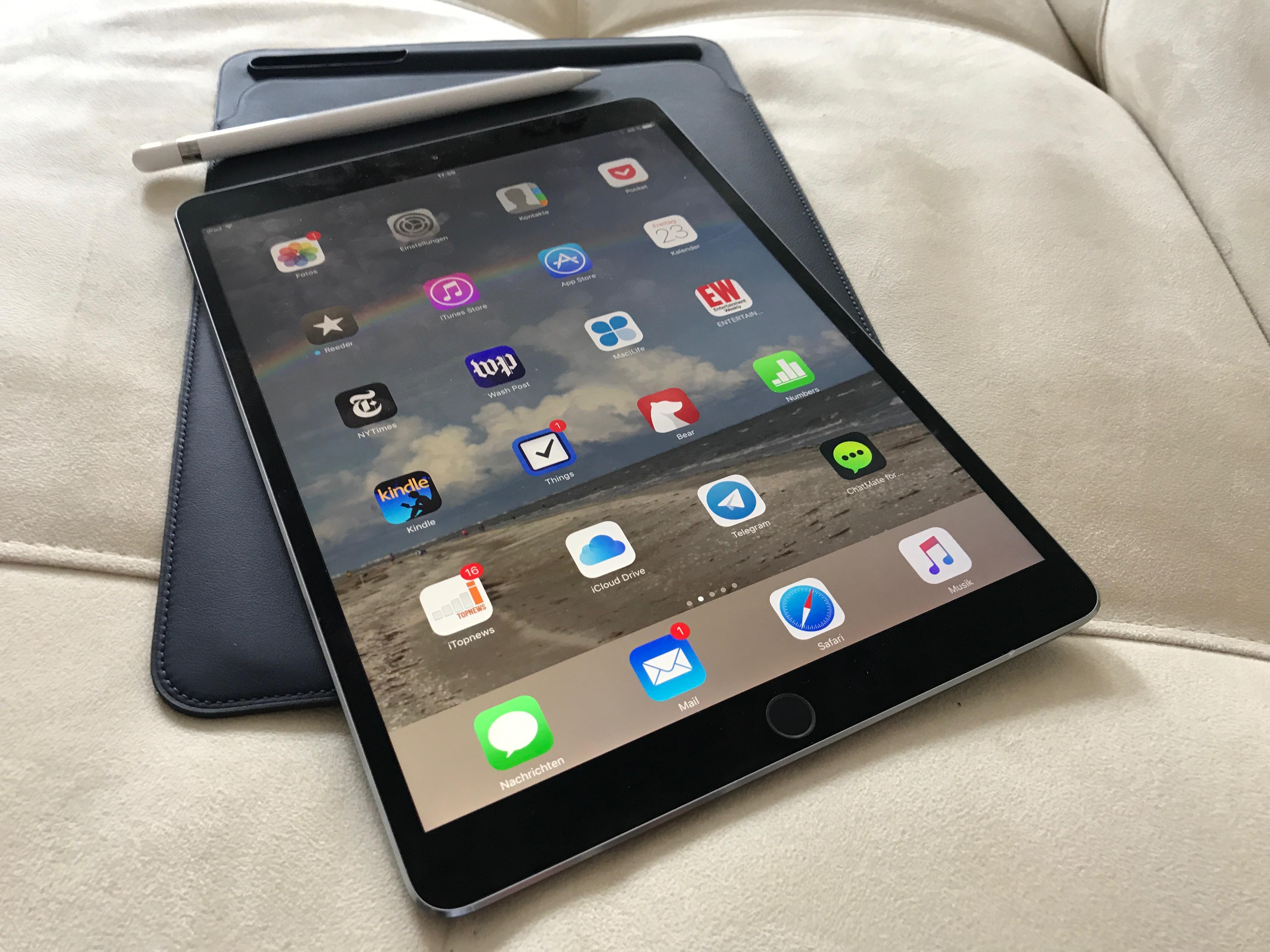 Sondern Mit Meinem IPhone 7 Plus Wers Mag Sein Tablet Als Knipse Zu Nehmen Wird Technisch Ordentlich Bedient Meine Sache Ist Es Nicht