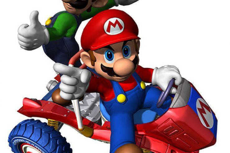 Super, mario, wiki Mario Kart, wikip dia